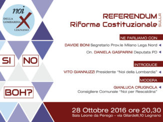 volantino - referendum sulla riforma costituzionale